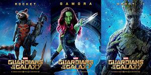 3 Poster Karakter Guardians of the Galaxy