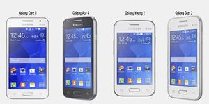 4 Smartphone Murah Samsung Terbaru: Galaxy Core II, Ace 4, Young 2 & Star 2