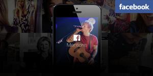 Facebook Mentions Dekatkan Selebriti dengan Fans