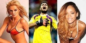 Argentina Juara Piala Dunia 2014, Istri Sergio Romero Pinjamkan Suaminya ke Rihanna