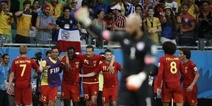 Babak 16 Besar Piala Dunia 2014 Belgia v Amerika Serikat 2-1