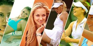 Petenis Cantik dan Seksi Wimbledon 2014