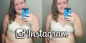 Instagram Hapus Foto Selfie Gadis Gemuk Berbikini