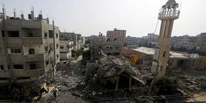 Israel Ledakan 5 Masjid di Gaza