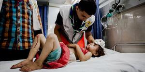 Korban Tewas di Gaza Bertambah jadi 573 Orang