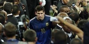 Lionel Messi Raih Golden Ball Pemain Terbaik Piala Dunia 2014