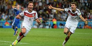 Mario Gotze Pahlawan Jerman Juara Piala Dunia 2014 Brasil