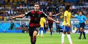 Miroslav Klose Pencetak Gol Terbanyak di Piala Dunia Sepanjang Masa