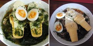 Orang Korea Gemar Makan Ramen Dicampur Es Krim
