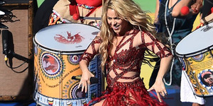 3 Penampilan Seksi Shakira di Piala Dunia