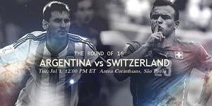 Prediksi Piala Dunia 2014 Argentina v Swiss
