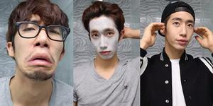 Pria ini Hanya Butuh 1 Menit untuk Tampil Seganteng Idola K-Pop