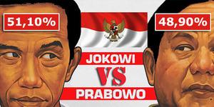 Real Count KPU Sementara: Jokowi-JK Ungguli Prabowo-Hatta
