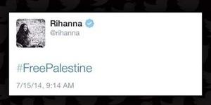 Rihanna Hapus Tweet Dukung Palestina #FreePalestine