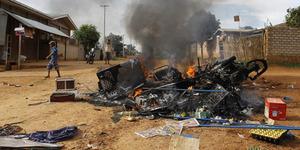 Sekolah Muslim Dibakar Ekstremis Buddha Myanmar