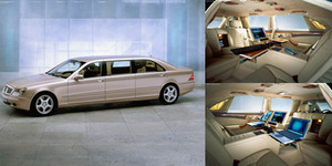 Mercedes-Benz S-Class Pullman, Sedan Termahal di Dunia Rp 12 Miliar