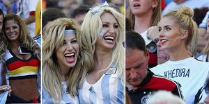 Suporter Cantik dan Seksi di Final Piala Dunia Jerman vs Argentina