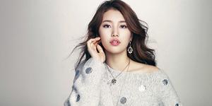 Suzy Tampil Seksi untuk Iklan Cartier di Majalah Marie Claire