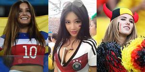 Video Suporter Cantik dan Seksi Piala Dunia 2014