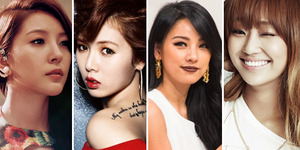 7 Artis Cantik Korea yang Bertato