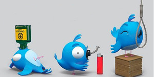 Rajin Twitteran Picu Bunuh Diri