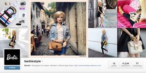Barbie Kini Punya Instagram untuk Pamerkan Fashion Kelas Dunia