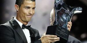 Cristiano Ronaldo Pemain Terbaik Eropa 2014