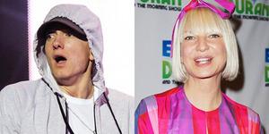 Duet Eminem-Sia Furler di Lagu Baru Guts Over Fear