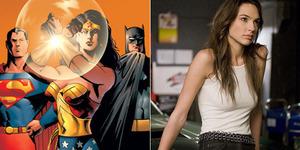 Foto Gal Gadot Seksi dengan Kostum Wonder Woman