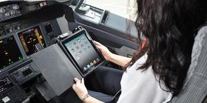 Gara-Gara iPad, Pesawat  Boeing 777-300ER Hampir Jatuh