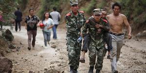 Gempa 6.1 SR di China Tewaskan 367 Orang