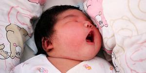 Ibu di China Lahirkan Bayi Seberat 6,3 Kg