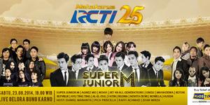Harga Tiket Konser Super Junior M di Mahakarya RCTI 25