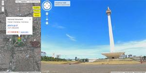 Jakarta Sudah Muncul di Google Street View