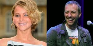 Vokalis Coldplay Chris Martin-Jennifer Lawrence Pacaran?
