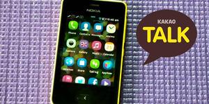 KakaoTalk Hadir di Nokia Asha