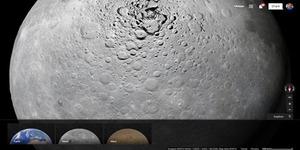 Jelajahi Bulan dan Planet Mars dengan Google Maps