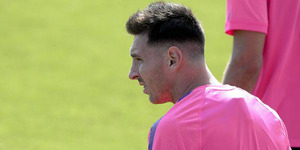 Lionel Messi Jiplak Gaya Rambut Cristiano Ronaldo atau Kim Jong-un?