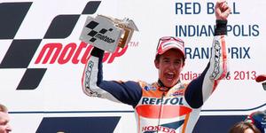 Marc Marquez Menang Lagi di MotoGP 2014 Indianapolis