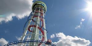 Polercoaster, Rollercoaster Tertinggi di Dunia 173 Meter!