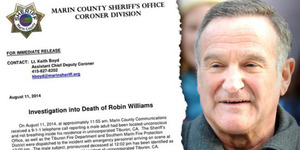 Robin Williams Tewas Gantung Diri