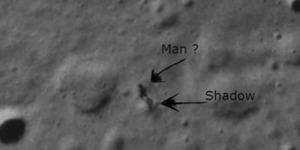 Alien Terlihat di Bulan