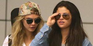 Selena Gomez-Cara Delevingne Lesbian?