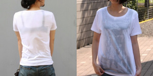 T-Shirt dengan Efek Basah dan Siluet Garis Bra Jadi Tren di Jepang