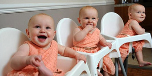 Terlalu Mirip, 3 Bayi Kembar Identik Dibedakan dengan Cat Kuku