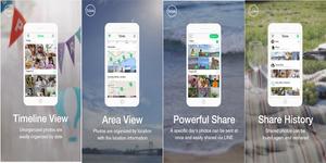 Toss, Aplikasi Berbagi Foto & Video Dari Line
