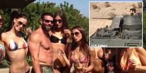 Video Raja Poker Dan Bilzerian Hancurkan BMW dengan Tank