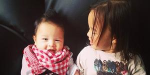Foto Wajah Imut Anak Irfan-Jennifer Bachdim
