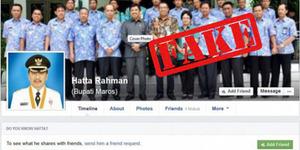 Akun Facebook Palsu Bupati Maros Berhasil Tipu 4.000 Pengguna FB