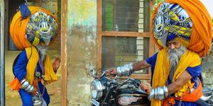 Avtar Singh, Pria dengan Sorban Terbesar di Dunia 100 Kilogram!